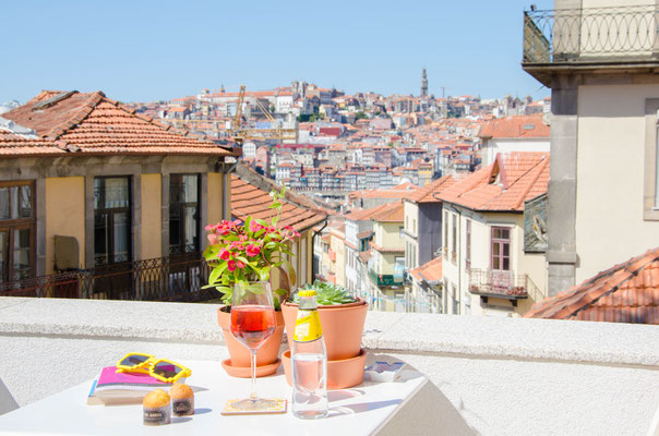 "The view from our ""Porto City View Apartement"" ©Porto Moments"