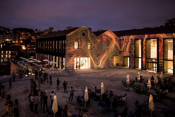 L'esplanade du World of Wine à Gaia - Copyright WOW Porto