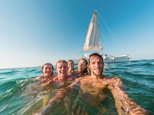 Familien-Segeln mit Kapitän Balearen Porto Cristo