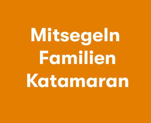 Mitsegeln Familien Katamaran ab Palma de Mallorca