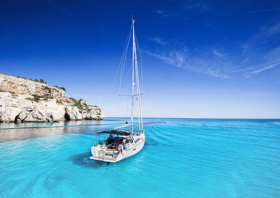 Segeln ab Cala Mesquida Katamaransegeln