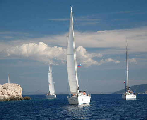 Flottillensegeln Mallorca