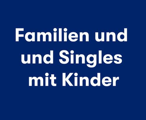 Familien und Singleeltern mit Kind Spanien