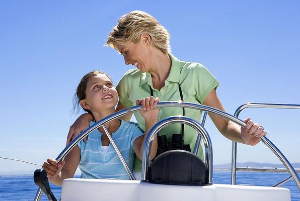Singles mit Kinder und Familiensegeln Balearen