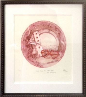 And makes one Little Room, and Everywhere #7/100 | Etching | 460x510mm framed