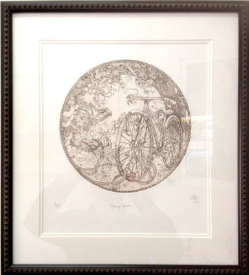 Coming Home #32/100 | Etching | 460x510mm framed