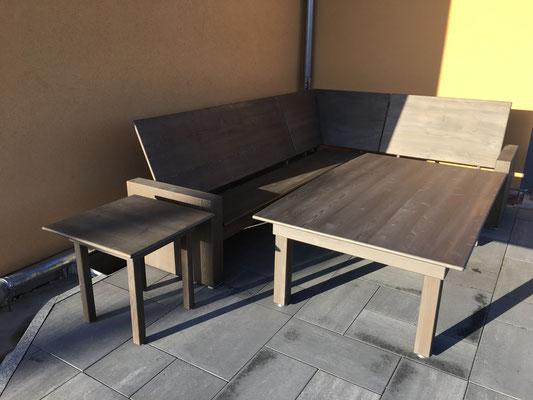 Eckbank Sitzecke Tisch Holz Sitzmöbel