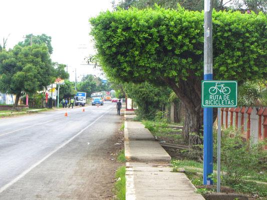 Erste offizielle Radweg in Südamerika