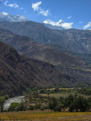 Ersten Gipfel der Cordillera Blanca