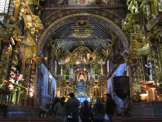 Kirche von Andahuaylillas