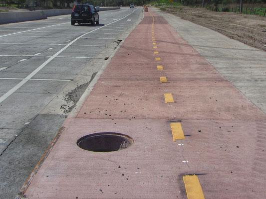 Traue keinem Radweg in Mittelamerika