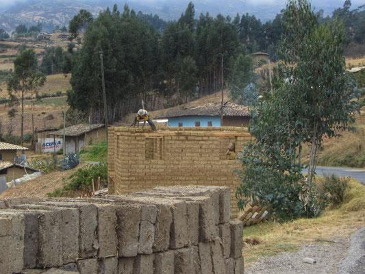 Typische Lehmbauten