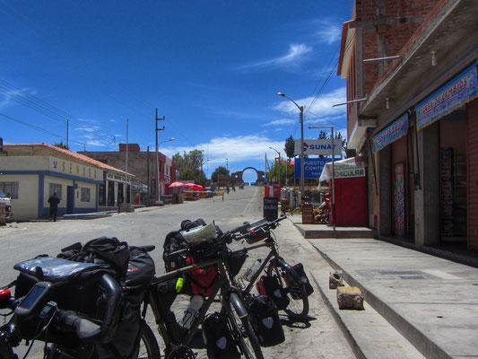 Weg nach Bolivien