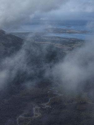Cerro Guanaco, bischen wolkig