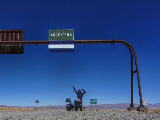 Grenze Argentinien/Chile