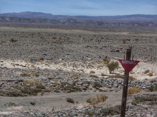Chile/Bolivien, nicht die besten Freunde