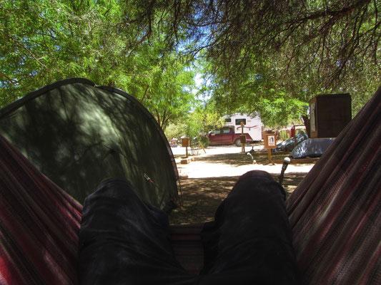 Ausspannen in San Pedro de Atacama