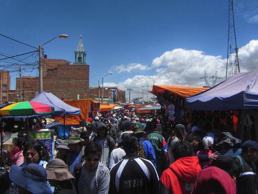 Sonntagsmarkt El Alto