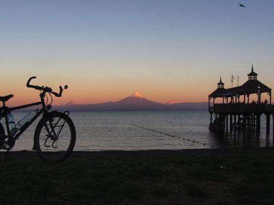 Frutillar mit mal wieder dem Osorno