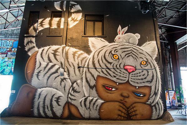 Peinture fraîche festival 14 - Alex face - Thaïlande