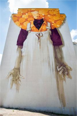 Peinture fraîche festival 17 - Inti - Chili