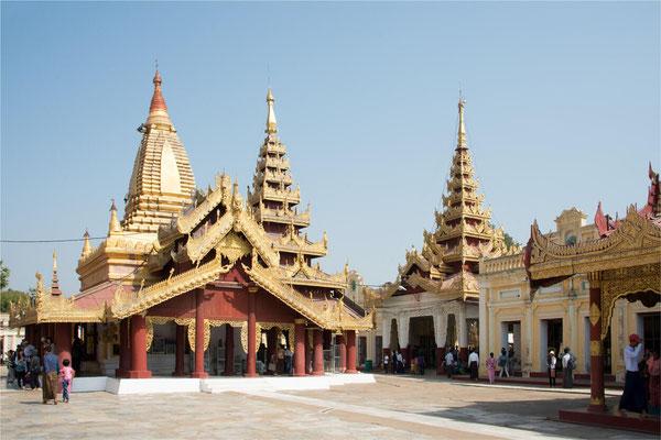 Bagan - Pagode Shwe Zi Gone 05
