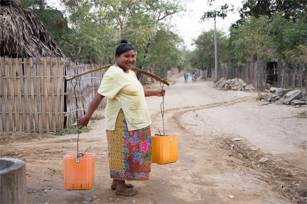 Scènes de vie 50 - Birmanie