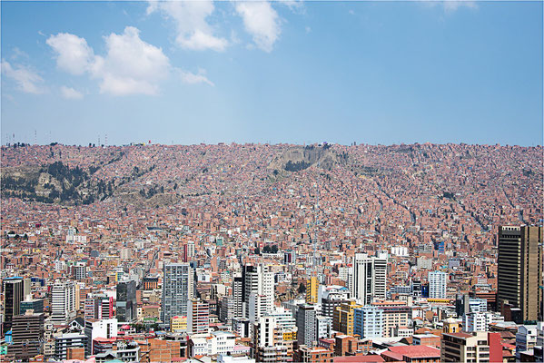La Paz 14 - Depuis mirador Killi Killi
