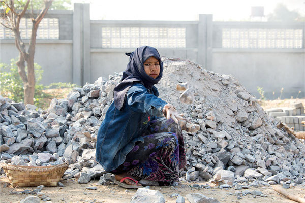 Scènes de vie 44 - Birmanie