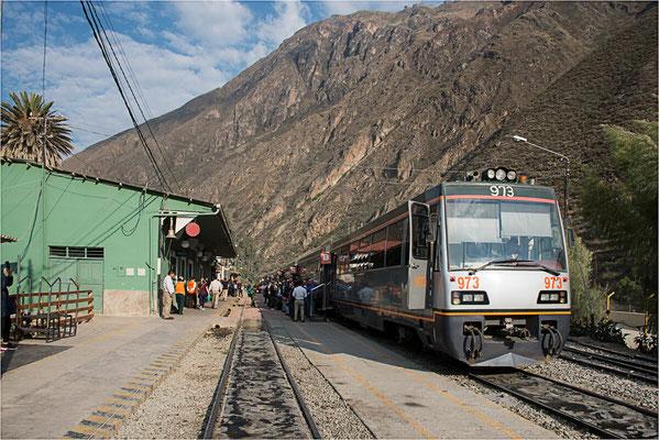 Ollantaytambo 07 - Départ pour Aguas Calientes et Machu Picchu