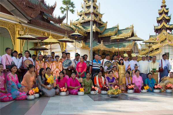 Noviciat 16 - Yangon - Pagode Shwedagon