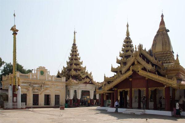 Bagan - Pagode Shwe Zi Gone 11