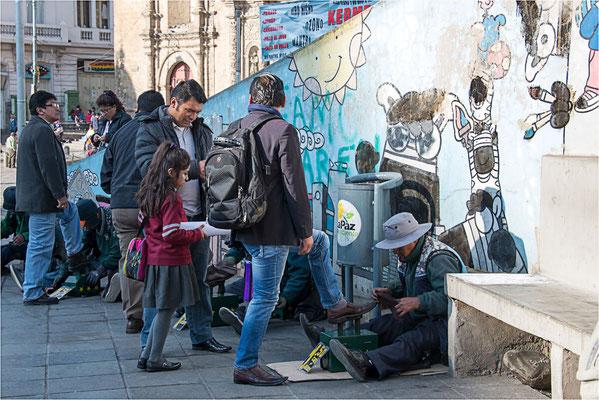 La Paz 04 - Cireurs de chaussures