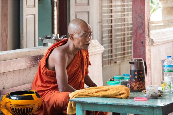 Sagaing - Pagode Shwe Kyet Kya 09 - Enseignement  bouddhiste