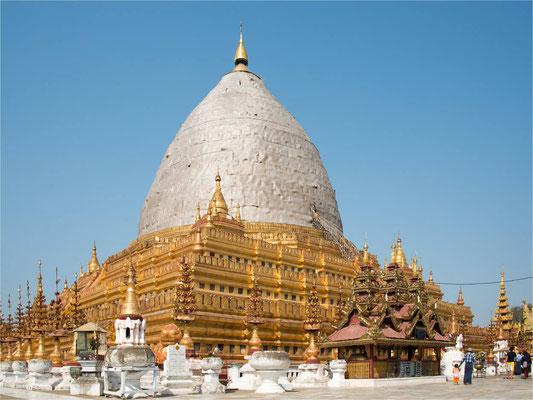 Bagan - Pagode Shwe Zi Gone 06
