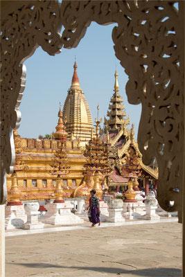 Bagan - Pagode Shwe Zi Gone 03