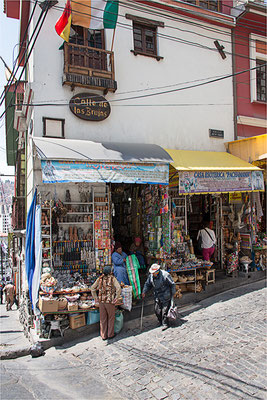 La Paz 29 - Rue des sorcières