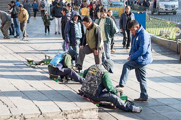 La Paz 03 - Cireurs de chaussures cagoulés