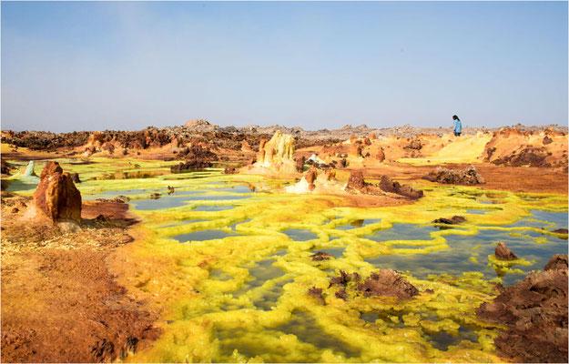 ETHIOPIE - Dépression du Danakil- Dallol 23