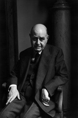 L'écrivain Albert Cohen, Paris, 1968 © Martine Franck / Magnum Photos