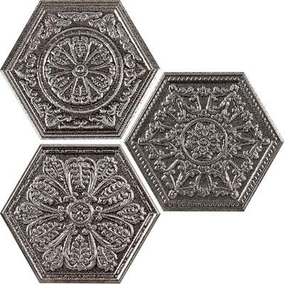 Apavisa Zinc titanium hexagon