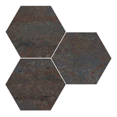 Apavisa Rust titanium hexagon