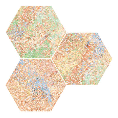Apavisa Emotion red hexagon