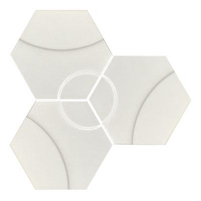 Apavisa Intuition white wave hexagon