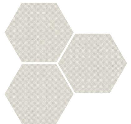 Apavisa Puntocroce white hexagon
