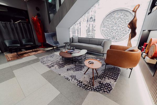 Projekt: Hotel am Stephansplatz, 1010 Wien, Design: Archiguards, Fliesen: Apavisa Nanoconcept