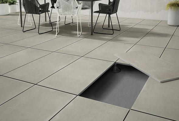 Apavisa Object grey solid 2 cm