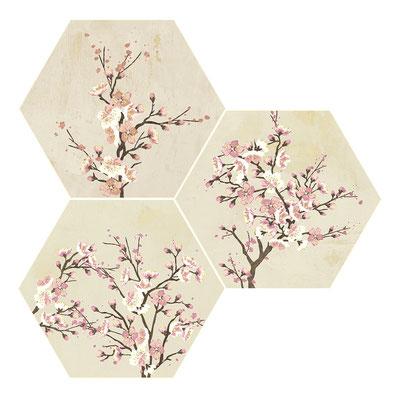 Apavisa Mood ivory decor hexagon