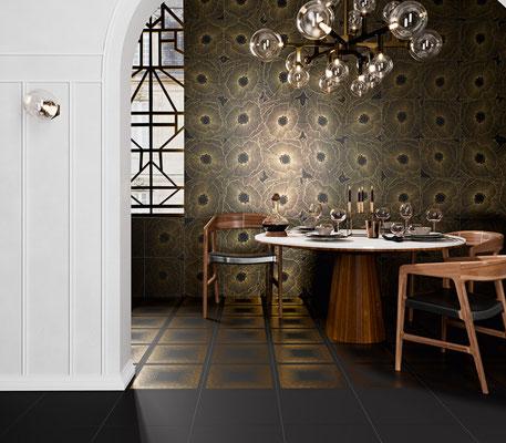 Aparici Art Deco black Spritz
