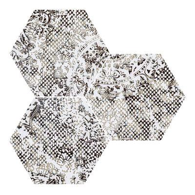 Apavisa Inedita white hexagon